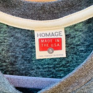 HOMAGE Tops - EUC HOMAGE Columbus Clippers Graphic T-Shirt